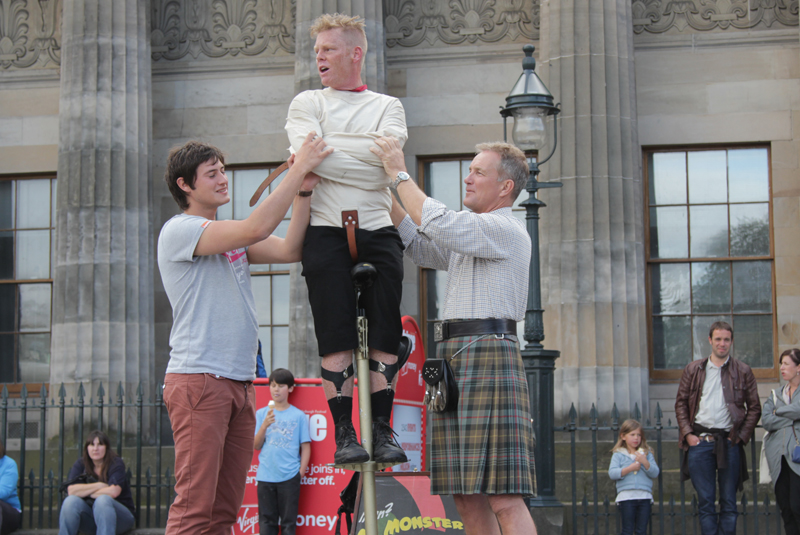 Stock Lines and Edinburgh Fringe - The Busking Project