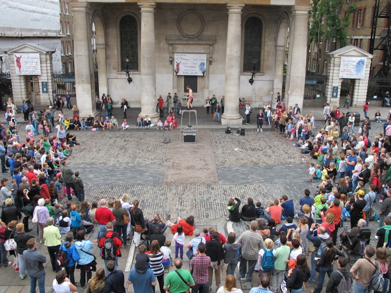 Covent Garden One Of The Most Famous Busking Spots In The