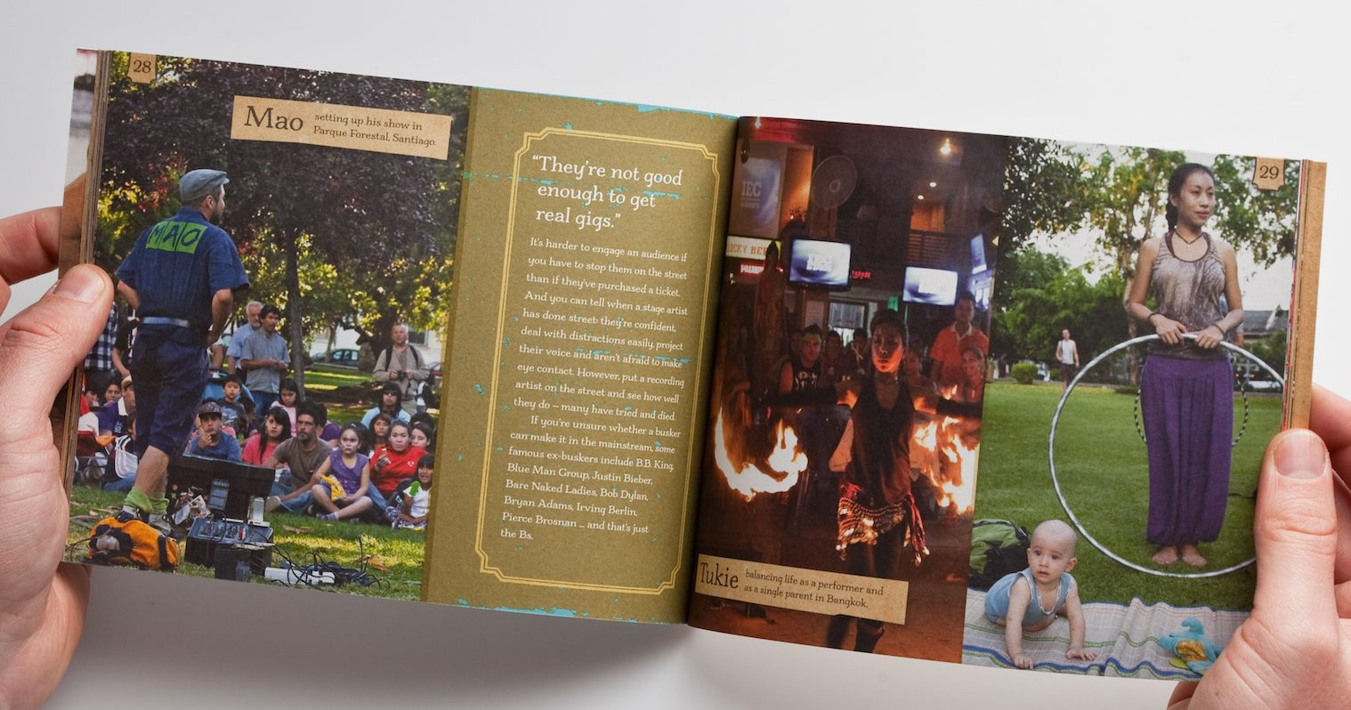 The Busking Project Book