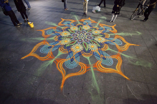 New York Sand Painter