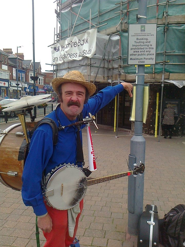 busking lifer