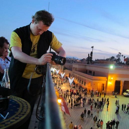 Nick Broad, de la Fundación Arte y Cultura de Calle