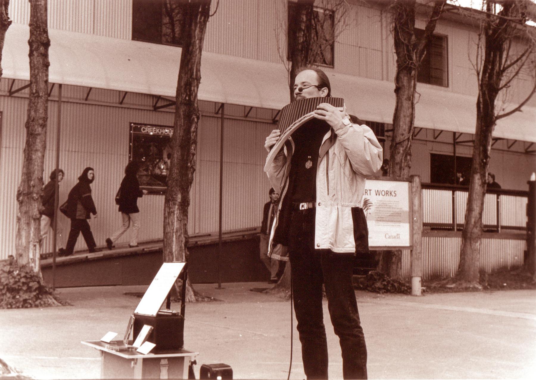 Sylvan Playing Flute