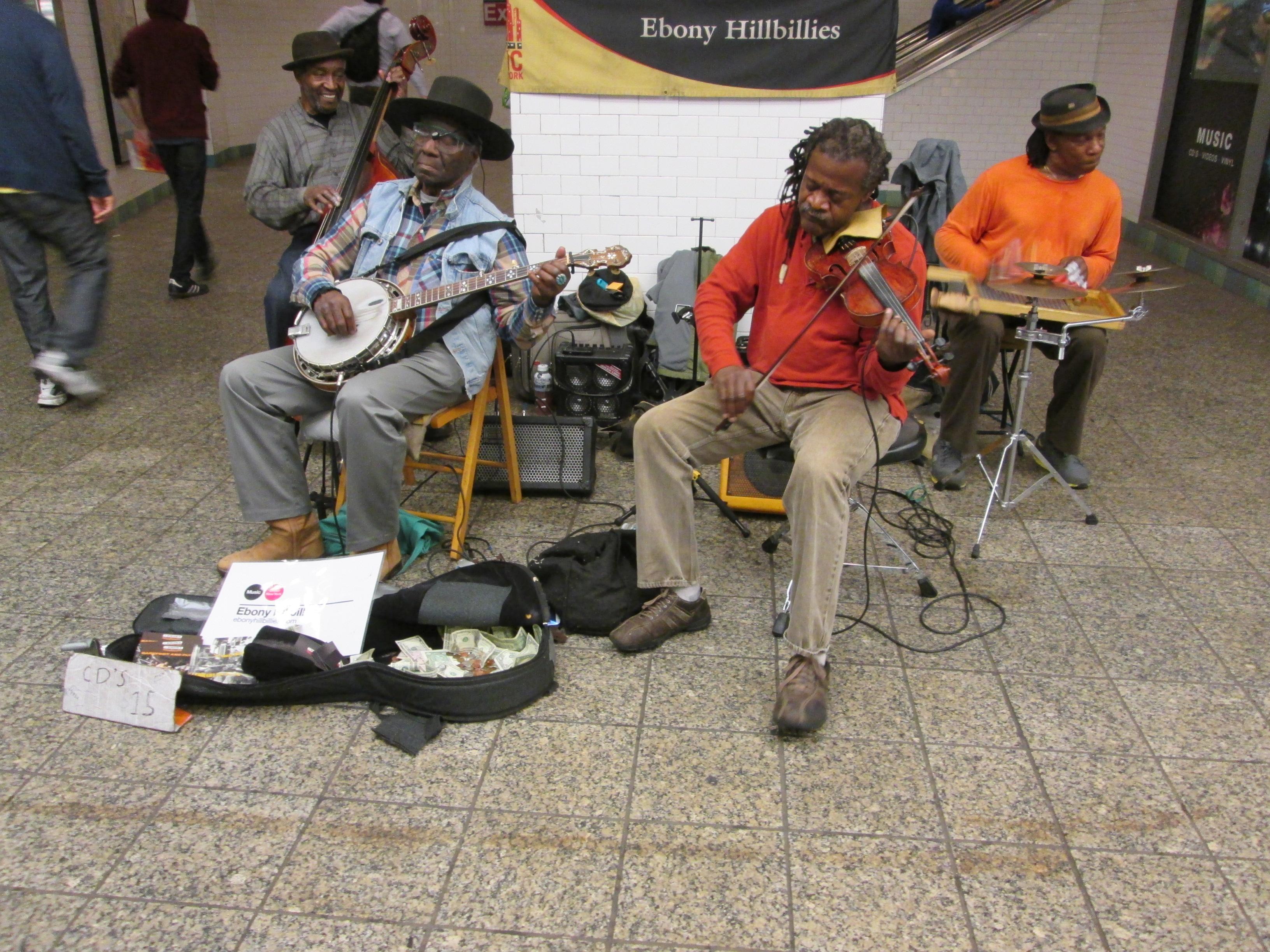 Ebony Hillbillies in Subway Beats