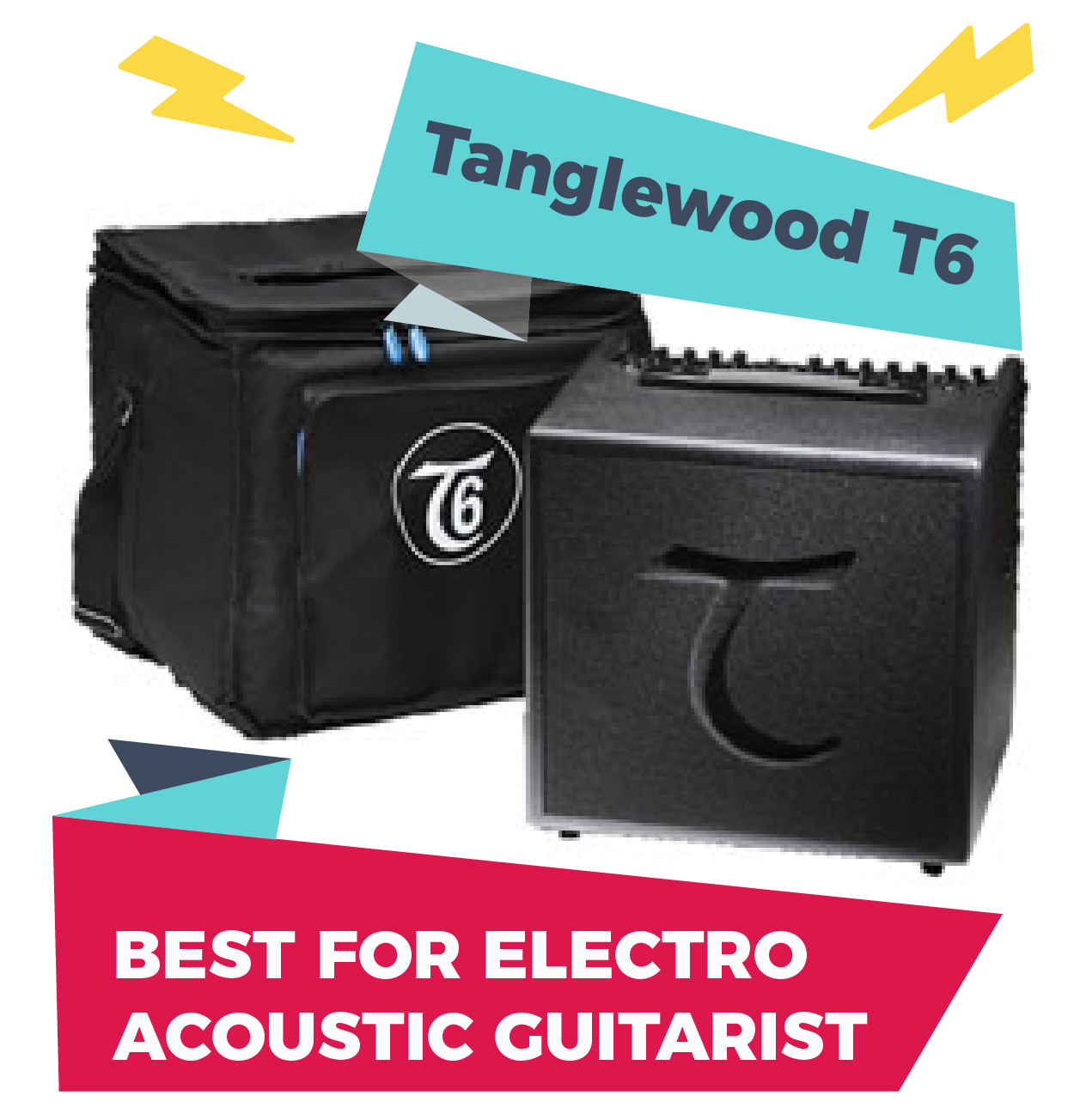 Tanglewood T6, one of the best amps for busking for electro-acoustic guitarists