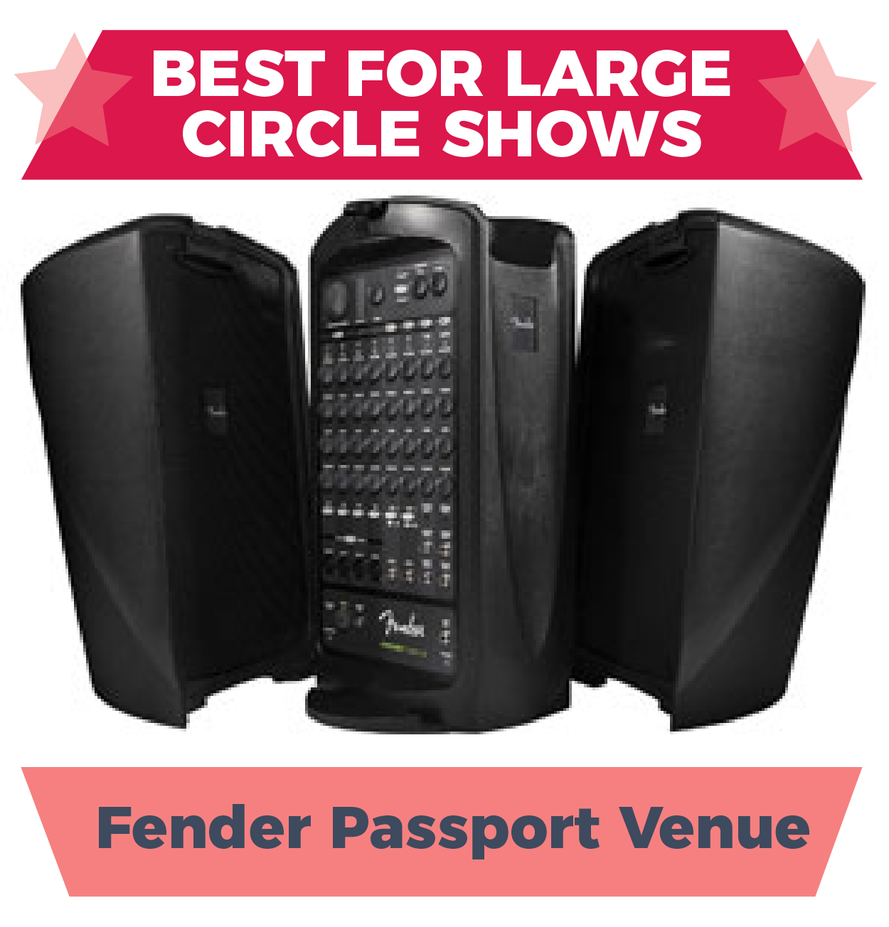 Fender Passport Venue, one of the best amps for busking for groups and circle shows