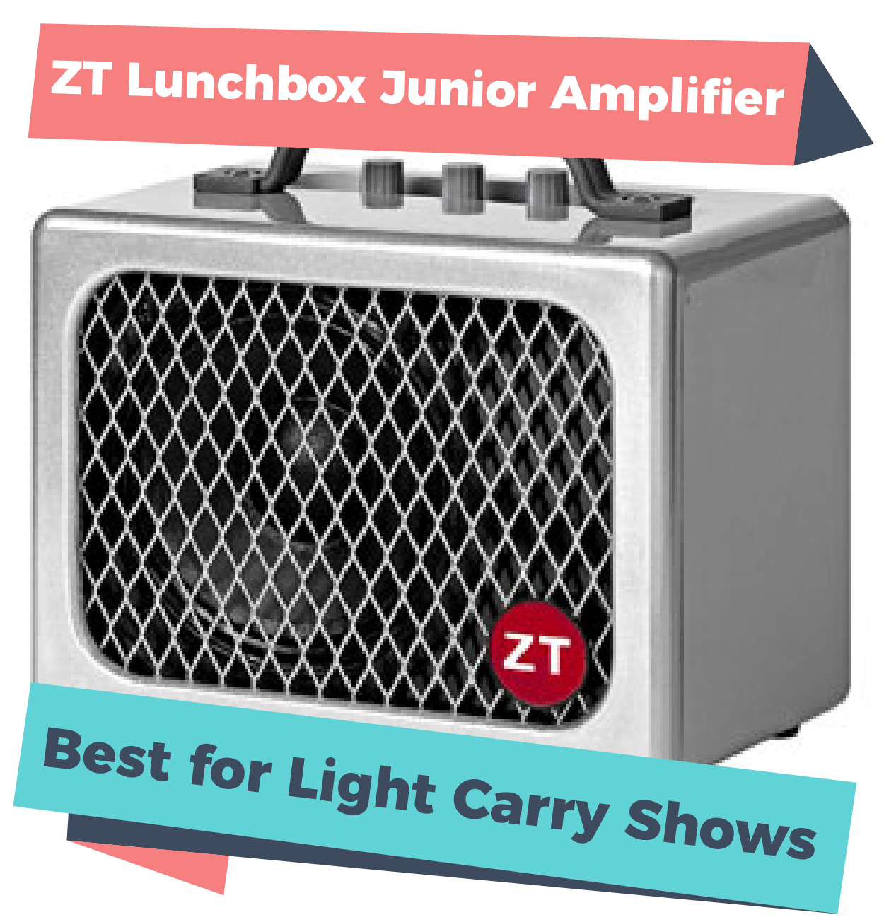 ZT Lunchbox Junior Amplifier, one of the best amps for busking