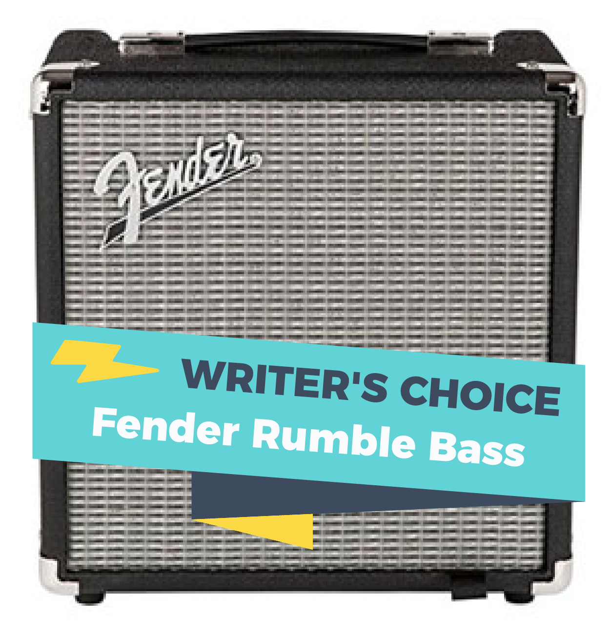 Fender Rumble Bass Amp, one of the best amps for busking out there.