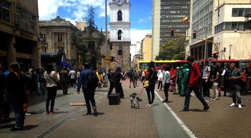Carrera Séptima Bogotá - Colombia